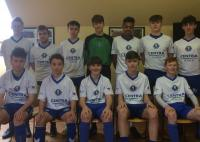 Blarney United U15s in SFAI Skechers Nat Cup last 16 action at home to Douglas Hall