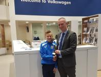 Joe O'Brien-Whitmarsh (Fermoy) - BLACKWATER MOTORS CSL U12 Player of the Month for December
