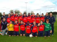Springfield Ramblers U16 Squad 2015/16