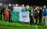 Congrats to Kanturk AFC who presented a cheque to Marymount at Turners Cross