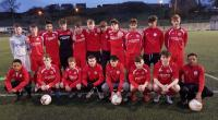 The Joma / Sportsgear Direct sponsored Cork U16s who played Limerick Desmond