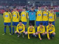 Carrigaline United CSL Joma/Sportsgear Direct U16 Cup Runners Up