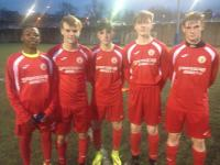 Cork U16s scorers v S Tipp - Pierce Cummins, Conor Docherty, Rob Geaney O'Brien, Eoin Redmond and Destiny Okonkwo