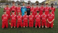 The DENNEHY'S HEALTH & FITNESS sponsored Cork U15 Squad who beat Kerry 2-0 in the SFAI SUBWAY Championship
