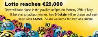Lotto €20,000
