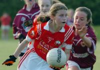 Rossa girls in U14 County Final, Monday, June 16th 2014.