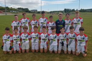 Caha Og under 13 who beat Castlehaven 14/07/2018