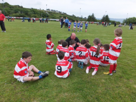 More team talk at Adrigole Monster Blitz June 2015