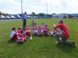 U10 Blitz Castletown June 2014 Team Talk