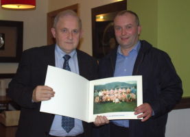 Presentation of 1990 Under 21 Team Photo