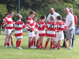 U10 Team Talk Eamonn Jer Adrigole September