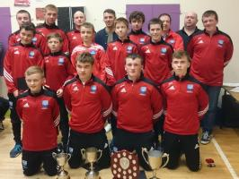 Presentation Night Under 16s County Winners
