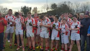 Adrigole Under 16 County C winners V Dromtarriff Nov 26th