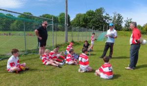 U10 Blitz Adrigole May 2014 Team Talk