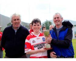 Beara U14 Winning Adrigole Captain 2017
