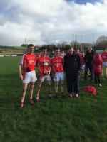 Munster Champions with Beara Community School Senior Team Feb 2nd V Newcastlewest