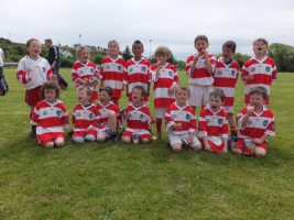 Adrigole U8 Team at Monster Blitz Adrigole June 2015