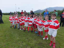 U8 Line up at Adrigole Monster U 8 Blitz June 2015