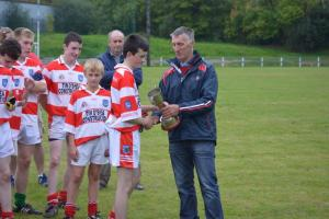 U16 - Western Championship Winners Cup Presentation October