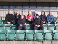 Grounds men with Anna Geary