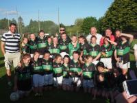 Girls Fe 12 A League Winners!