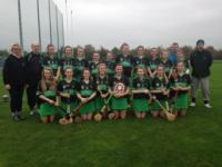 Fe 13 Seandun B Shield Winning Camogie Team