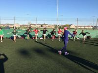 Irish Olympian Lizzie Lee Trains the Girls