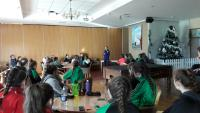 Classroom with Irish Olympian  Lizzie Lee!