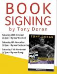 Tony Doran to sign Autobiography