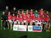Holy Family NS from Rathmore 6-8 teacher school champions