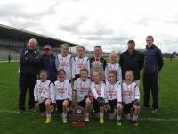 Mini Sevens Girls champions St Finians NS from Waterville