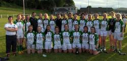Junior B Ladies County League Champions 2016