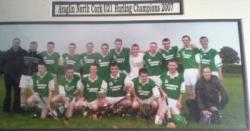 Araglen Gaa  U21 Hurling Team Championship Winners 2007