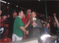 John O'Brien Captain 1999 County Champions