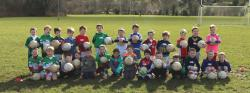 2018 Macroom U-6s first day training
