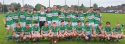 Macroom Minors 2016; Section A  winners