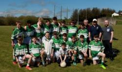 Macroom U-14s at Féile 2018