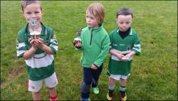 The U6 players of the week for this week were: Alex Waugh, Michael Kelleher & Tadgh O'Driscoll
