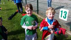 Robert Duggan & Sarah Neville U6 Players of the Week