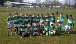2018 U-9s at Courceys, 18th Mar.