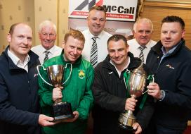 McCalls Premier League and Division Two Winners