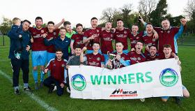 2018/19 McCalls NADAFL Division One Winners Ballynahinch Olympic II