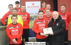 October-Mallow Utd Junior Team,  team of month award for October