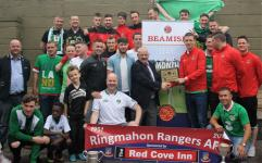 May '16 Team of the Month Ringmahon Rangers seniors