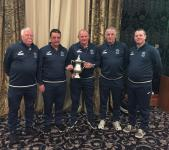 MSL Inter Provincial Trophy Winning Manager Tedgh O'Neill and Coaches Pat Quirke, Charlie O'Sullivan,Richie Keating,& Ray Duffy