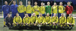 Douglas Hall O35 Floodlit League & Shield Winners