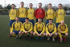 Douglas Hall AFC senior team 2015/16