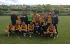 Cobh wanderers Sn 2nd div winners 2014-15