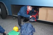 Pat Quirke MSL sorting the gear