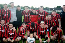 Ringmahon Rangers senior team Pop Keller cup winners